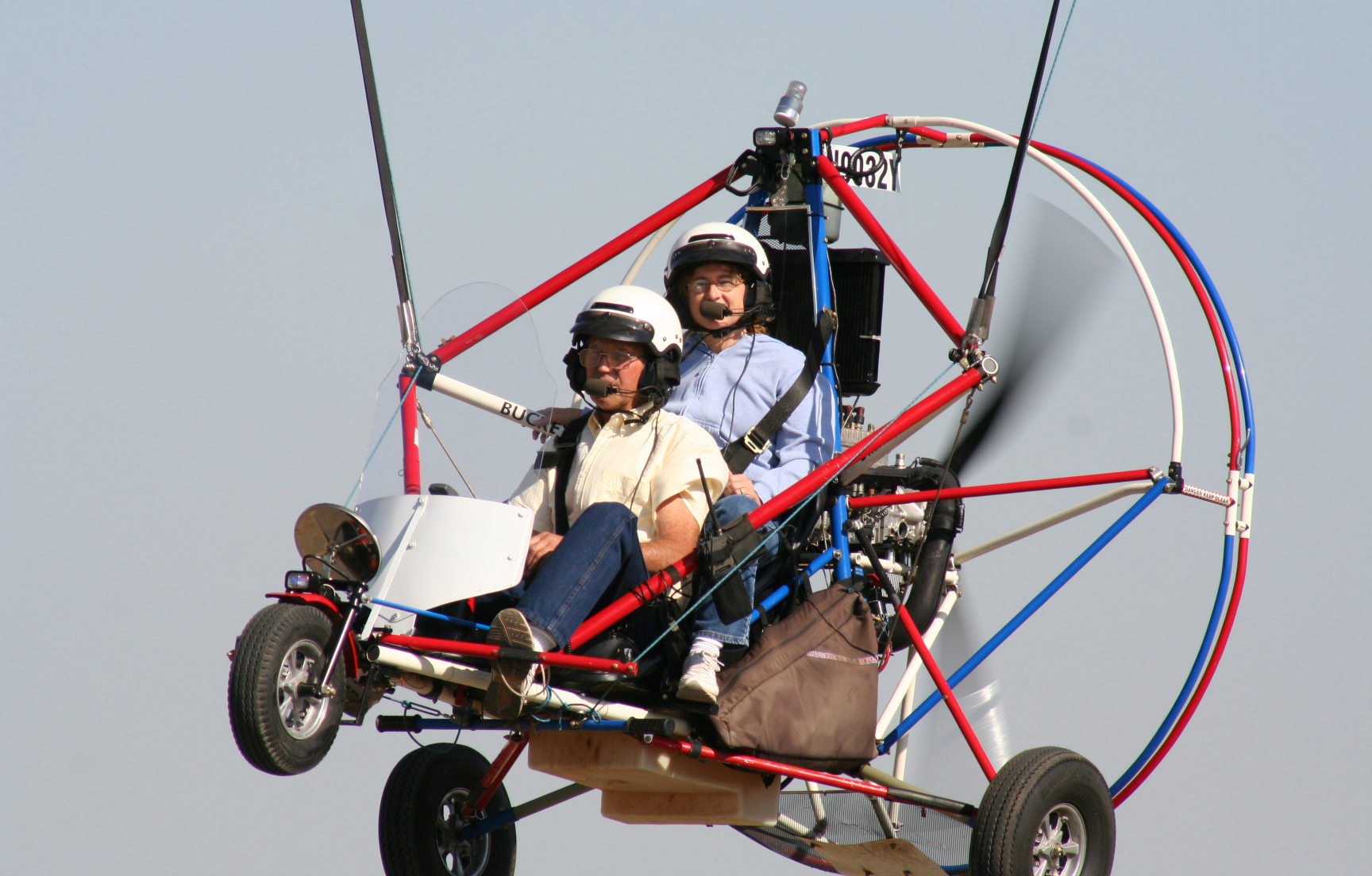 Corning, CA   –  Nov 30-Dec 1, 2018 Repairman Inspection Powered Parachute