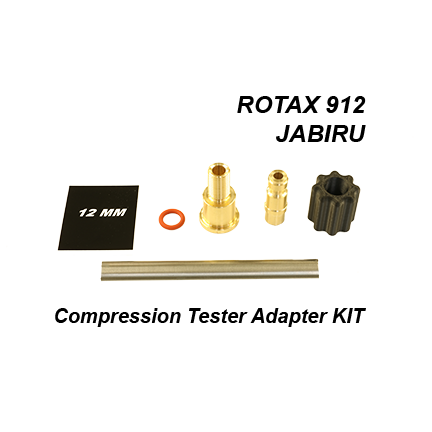 "12 mm Compression Tester Adapter (KIT) (""T"" Type Fitting)"
